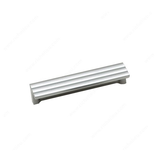 Lift 3-3/4 Inch Center to Center Matte Chrome Cabinet Pull <small>(#2169796174)</small>