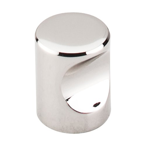 Top Knobs Nouveau II 3/4 Inch Diameter Polished Nickel Cabinet Knob M1600