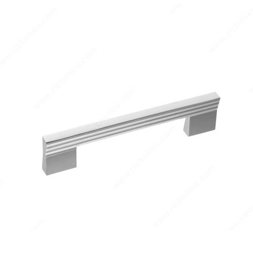 Richelieu Geometric 5-1/16 Inch Center to Center Chrome Cabinet Pull 21690128140