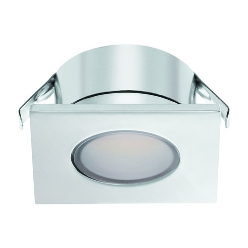 Hafele Loox 2023 12V LED Chrome Spotlight Warm White 833.72.060