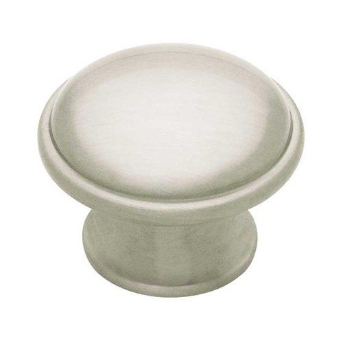 Liberty Hardware Cup Pulls 1-7/16 Inch Diameter Satin Nickel Cabinet Knob PN0836-BSN-C