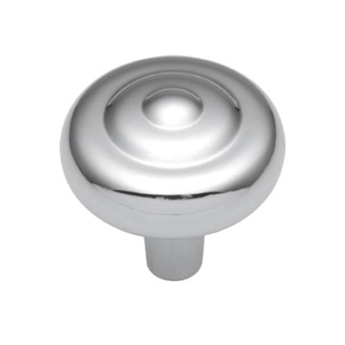 Hickory Hardware Eclipse 1-1/8 Inch Diameter Chrome Cabinet Knob P206-26