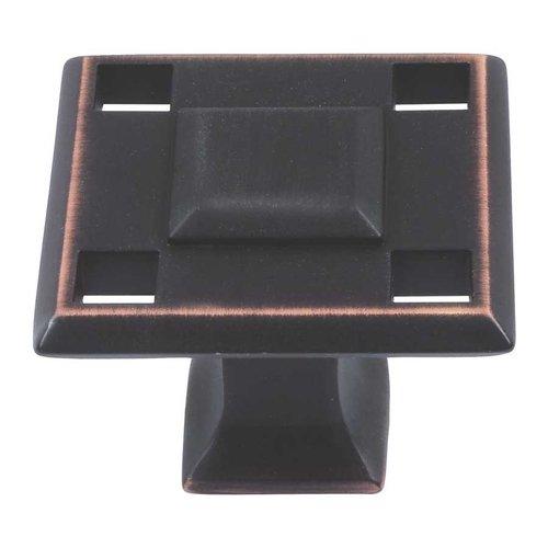 Atlas Homewares Modern Craftsman 1-5/16 Inch Diameter Venetian Bronze Cabinet Knob 4007-VB