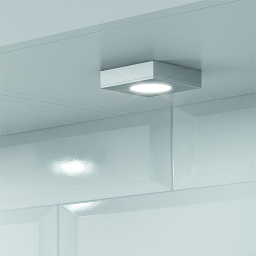 Hafele Loox 2025 12V LED Recess/Surface Mount Spotlight Warm White 833.72.120