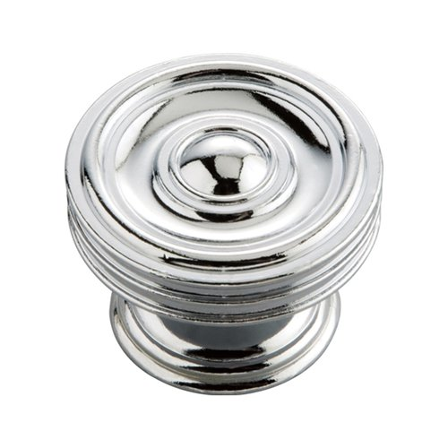 Hickory Hardware Williamsburg 1-5/8 Inch Diameter Chrome Cabinet Knob P3130-CH