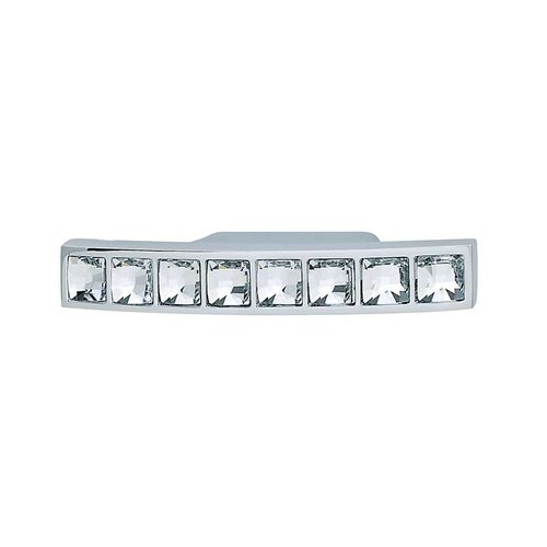 Hafele Elements 1-1/4 Inch Center to Center Polished Chrome Cabinet Pull 111.25.202