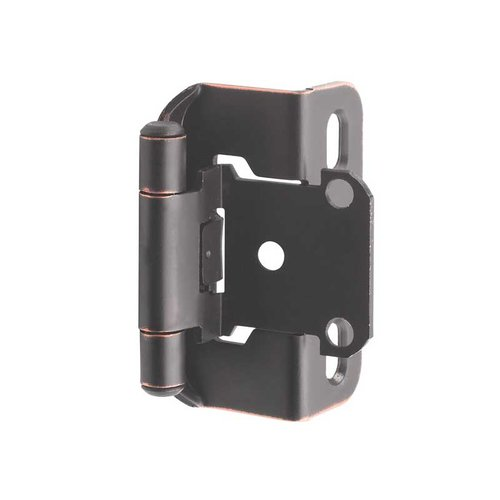"Amerock Partial Wrap 1/2"" Overlay Hinge Oil Rubbed Bronze - Per Pair BP7550ORB"