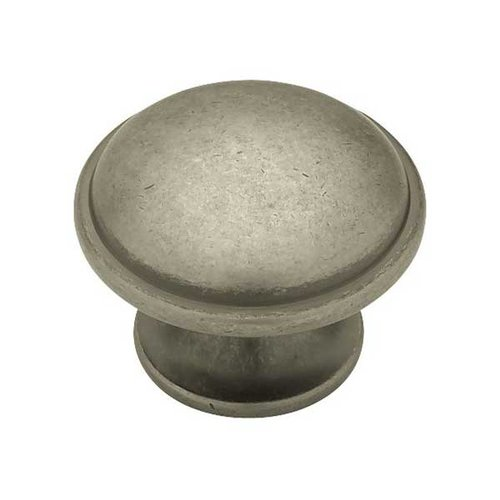 Liberty Hardware Cup Pulls 1-7/16 Inch Diameter Antique Iron Cabinet Knob PN0836-AI-C
