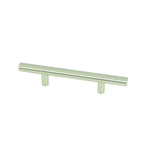 Stone Mill Hardware Stockholm 3 Inch Center to Center Stainless Steel Cabinet Pull CP4003-SS