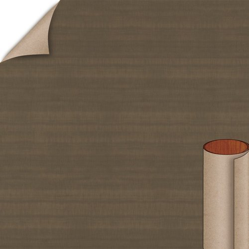 Brown Figured Anigre Arborite Laminate Horiz. 4X8 Velvatex W428-VL-A4-48X096