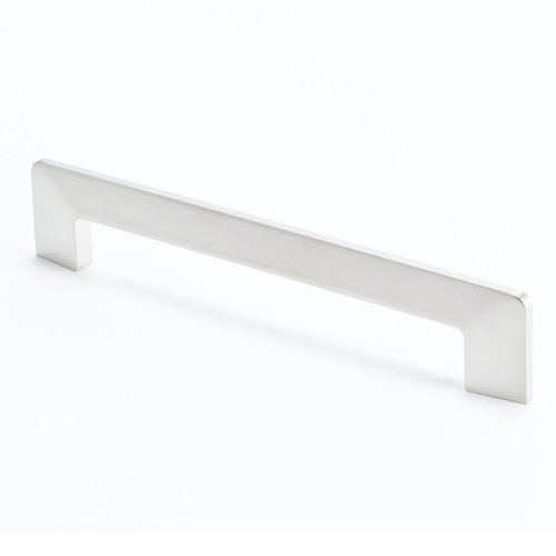 R. Christensen Edge 6-5/16 Inch Center to Center Brushed Nickel Cabinet Pull 9269-1BPN-C