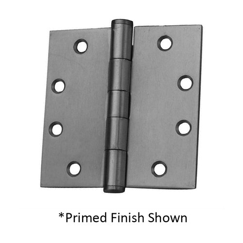 "Full Mort. Plain Bearing Hinge 4-1/2"" X 4-1/2"" Satin Brass <small>(#PB74545-633)</small>"