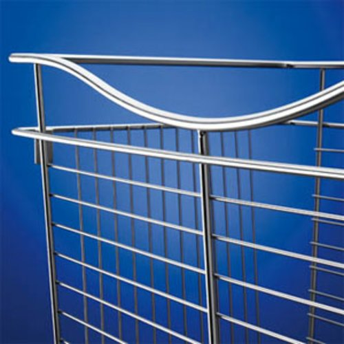 "Pullout Wire Basket 18"" W X 20"" D X 7"" H <small>(#CB-182007SN)</small>"