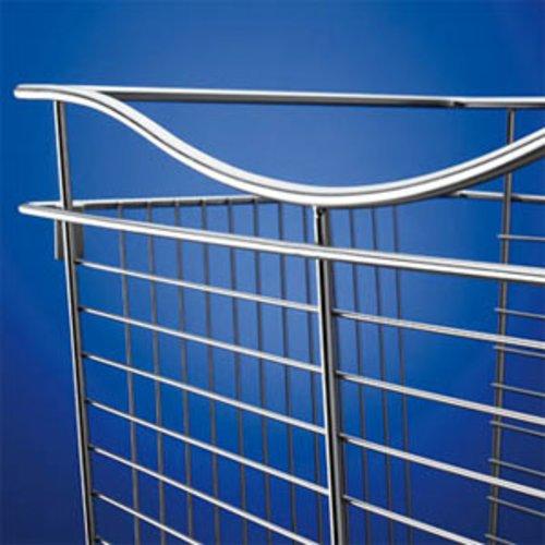 """Rev-A-Shelf Pullout Wire Basket 18"""" W X 20"""" D X 7"""" H CB-182007SN"""