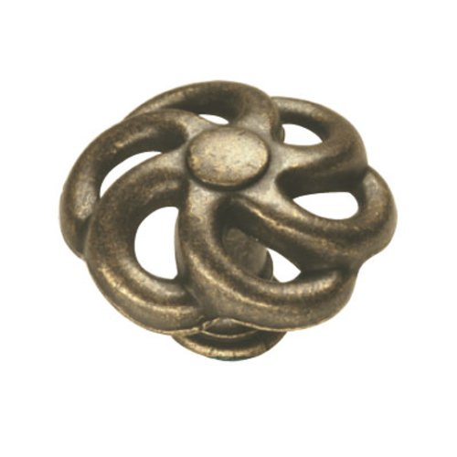 Hickory Hardware Charleston Blacksmith 1-1/2 Inch Diameter Windover Antique Cabinet Knob PA1311-WOA
