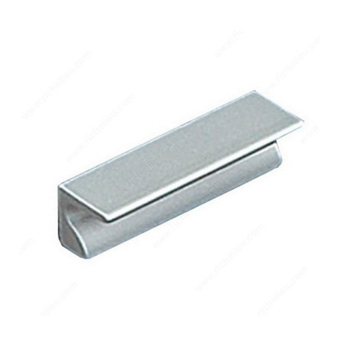 Richelieu Squared 1-1/4 Inch Center to Center Aluminum Cabinet Pull BP46043210