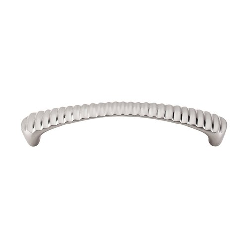 Top Knobs Nouveau III 5-1/16 Inch Center to Center Brushed Satin Nickel Cabinet Pull M1134