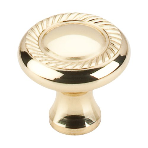 Top Knobs Somerset 1-1/4 Inch Diameter Polished Brass Cabinet Knob M324