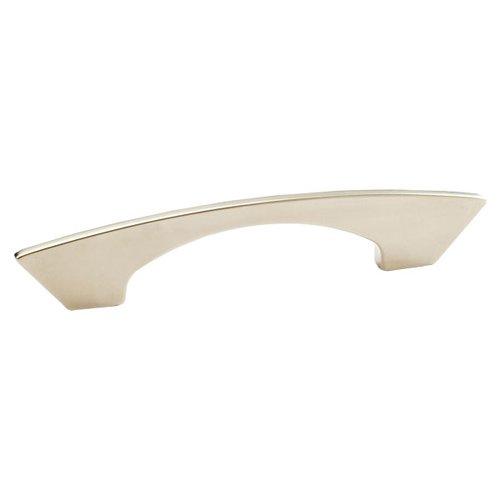 Schaub and Company Italian Designs Profile 3-3/4 Inch Center to Center Satin Nickel Cabinet Pull 247-096-15