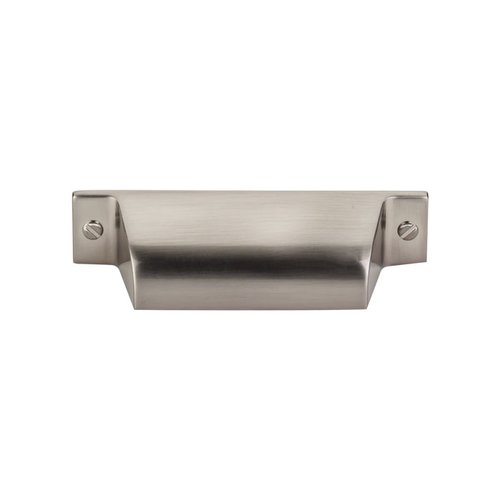Top Knobs Barrington 2-3/4 Inch Center to Center Brushed Satin Nickel Cabinet Cup Pull TK772BSN