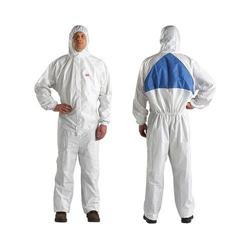 3M 4540+ Large Size Protective Coveralls White 4540L