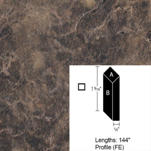 Wilsonart Bevel Edge - Bronzed Fusion - 12 Ft CE-FE-144-1796K-07