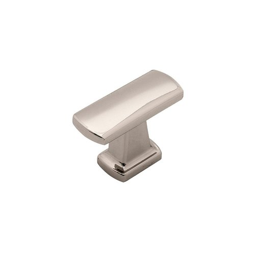 "Hickory Hardware Rotterdam Knob 1-1/2"" Dia Polished Nickel P3125-14"