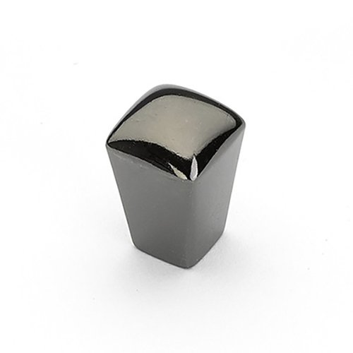 Schaub and Company Skyvale 1/2 Inch Diameter Black Chrome Cabinet Knob 300-BC