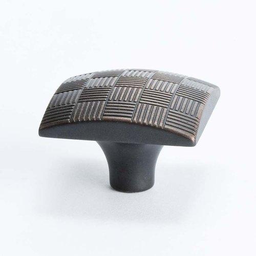 Berenson Virtuoso 1-3/16 Inch Diameter Rubbed Bronze Cabinet Knob 7141-1010-C