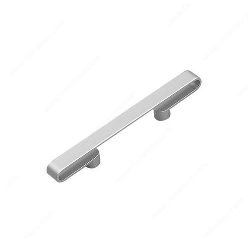 Richelieu Sleek 2-1/2 Inch Center to Center Matte Chrome Cabinet Pull 61696764174