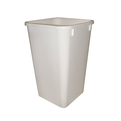 Rev-A-Shelf Polymer Replacement Bin 27 Quart - White RV-1024W
