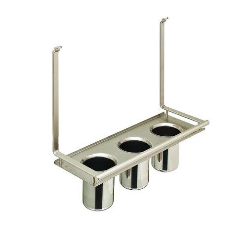 Kessebohmer Multi Utensil Holder For Backsplash Rail System Stainless 521.61.636