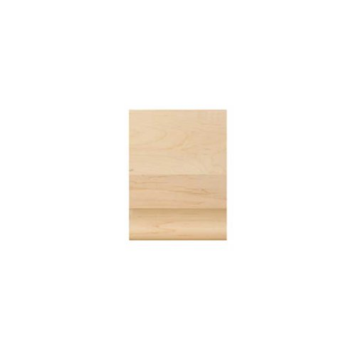 Brown Wood Medium Simplicity Cap Unfinished Hard Maple 01820610HM1
