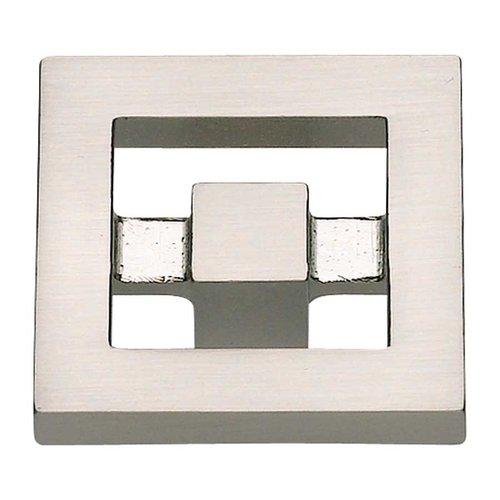 Atlas Homewares Nobu 1-3/8 Inch Diameter Brushed Nickel Cabinet Knob 260-BRN
