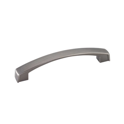 Jeffrey Alexander Merrick 5-1/16 Inch Center to Center Brushed Pewter Cabinet Pull 549-128BNBDL