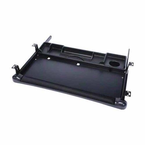 Knape and Vogt KV-1020 Keyboard Tray-Black KD-1020