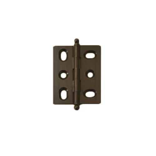 Elite Mortised Butt Hinge 50X40mm - Oil Rubbed Bronze <small>(#354.17.130)</small>