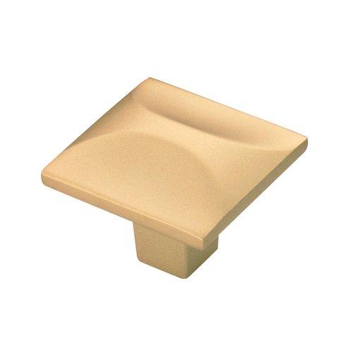 "Hickory Hardware Crest Knob 1-1/4"" Dia Flat Ultra Brass H076127-FUB"