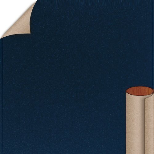 Nevamar Deep Blue Textured Finish 4 ft. x 8 ft. Vertical Grade Laminate Sheet S3022T-T-V3-48X096