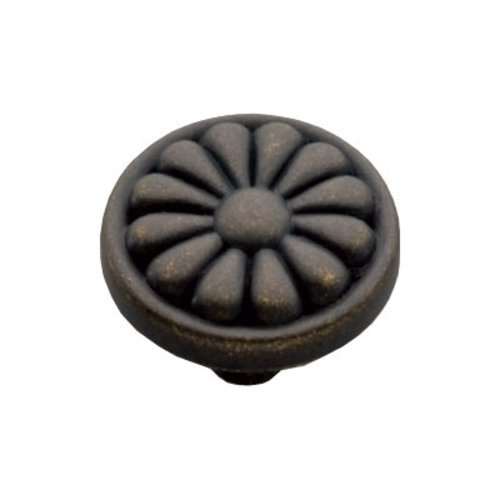 Newport 1-1/4 Inch Diameter Windover Antique Cabinet Knob <small>(#P531-WOA)</small>