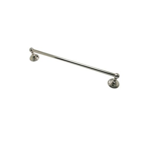 R. Christensen 18 inch Single Towel Bar Polished Nickel 2113US14
