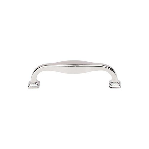 Top Knobs Transcend 3-3/4 Inch Center to Center Polished Nickel Cabinet Pull TK722PN