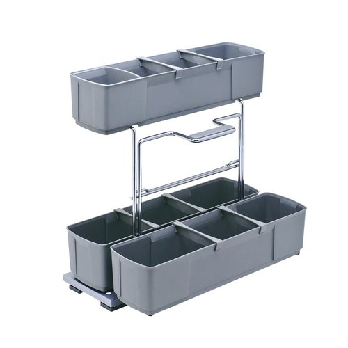 Kessebohmer Cleaning Caddy Storage Unit Pullout Grey 549.23.502