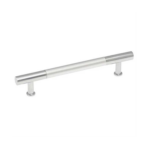 Hickory Hardware Dew 5-1/16 Inch Center to Center Frosted Chrome Cabinet Pull P3697-FCH