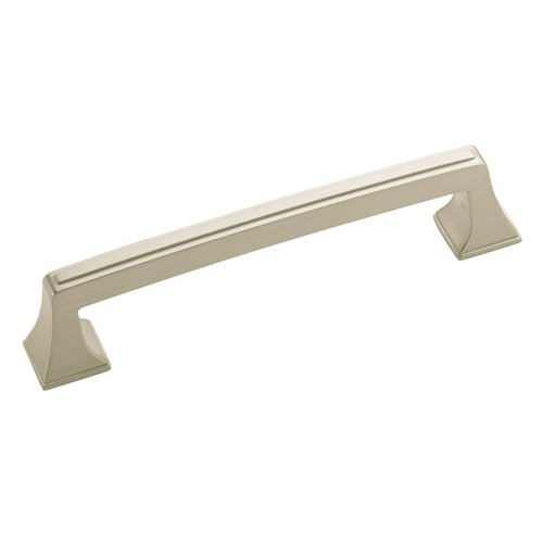 Amerock Mulholland 5-1/16 Inch Center to Center Satin Nickel Cabinet Pull BP53529G10