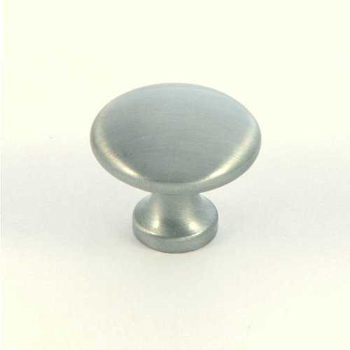 Princeton 1-1/4 Inch Diameter Satin Pewter Cabinet Knob <small>(#CP2175-SP)</small>