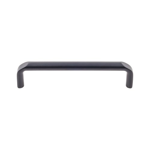 "Top Knobs Devon Exeter Pull 5 1/16 "" C/C Flat Black TK873BLK"