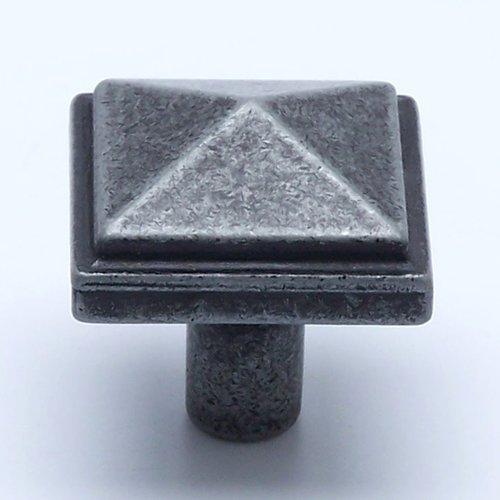 Berenson Rhapsody 1-3/16 Inch Diameter Weathered Iron Cabinet Knob 3050-1LWI-P