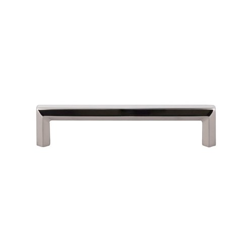 Top Knobs Serene 5-1/16 Inch Center to Center Polished Nickel Cabinet Pull TK794PN
