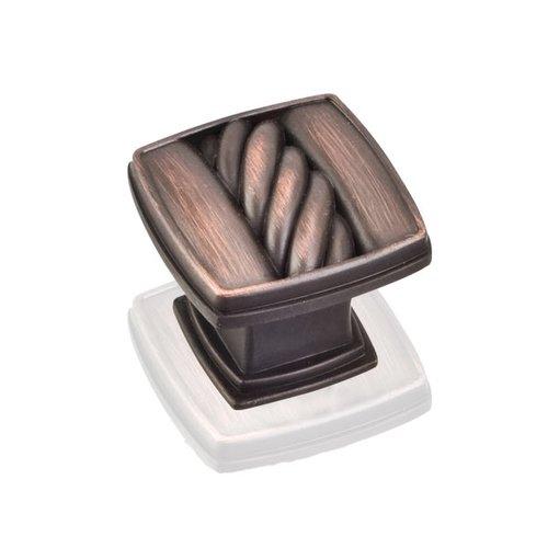 Jeffrey Alexander Encada 2 1-3/16 Inch Diameter Dark Brushed Antique Copper Cabinet Knob 125DBAC